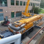 Crane Prior to Set Up