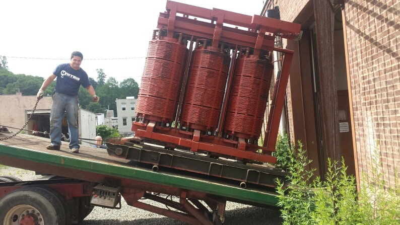 27,000 Pound Transformer