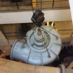 Hoisting Pump with Crane United Rigging