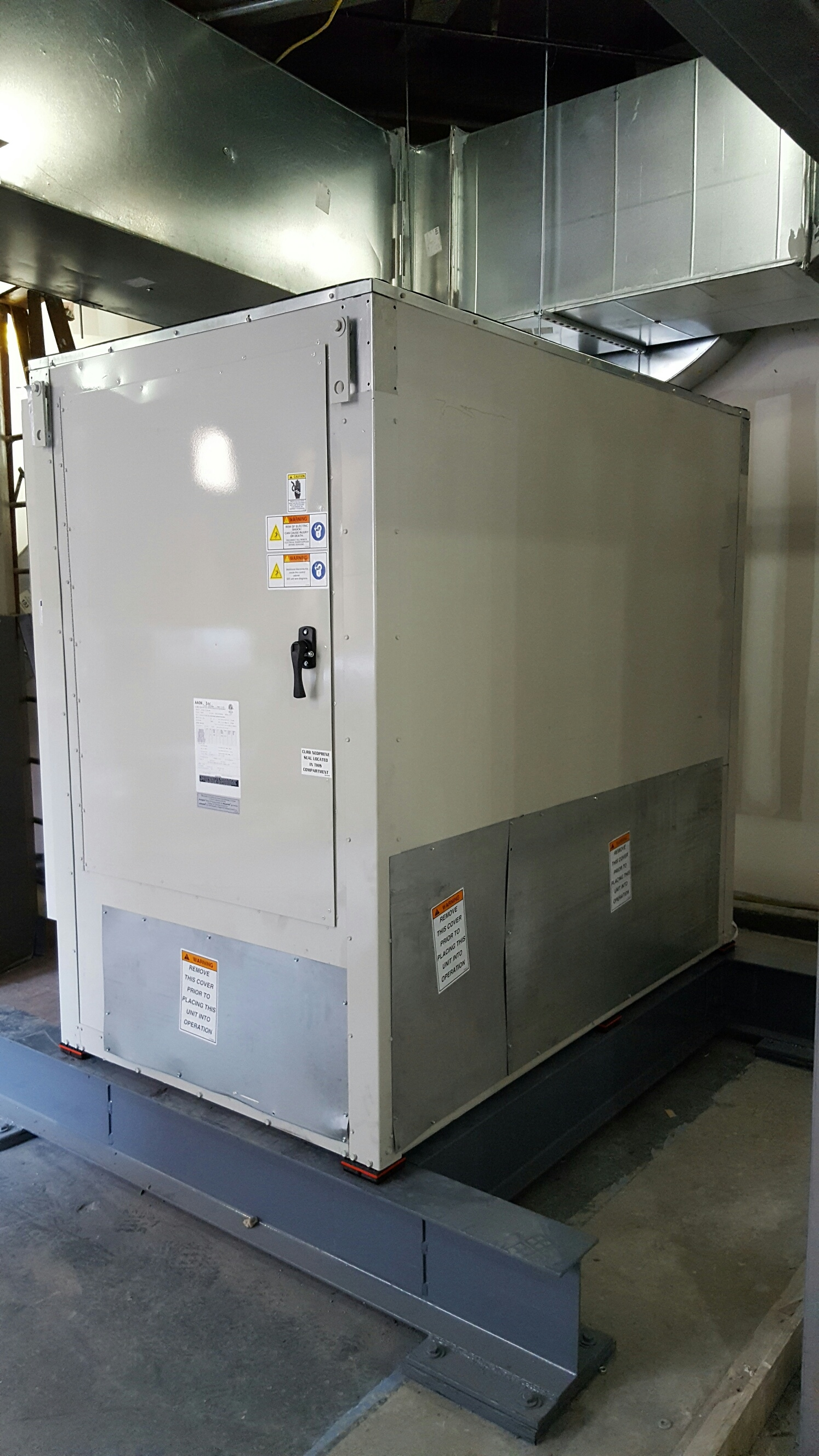 Air Handler Units At One Centre Street