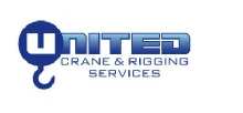 Small United Crane and Rigging Logo