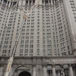 Manhattan Crane Job