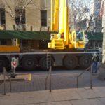 Crane Set Up in Street