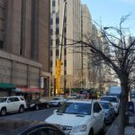 Crane in NYC Street