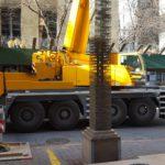 Liebherr Crane Set Up