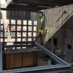Placing Cooling Tower Into Place