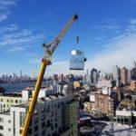 Crane in NY