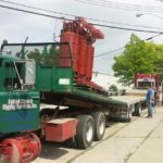 Rigging Transformer Into Place