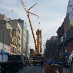 LTM 1500 Crane Lifting Container