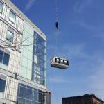Crane Hoisting Cargo