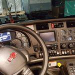 Interior of Crane Truck