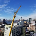 Crane in NYC