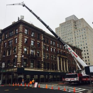 Crane Street Closure