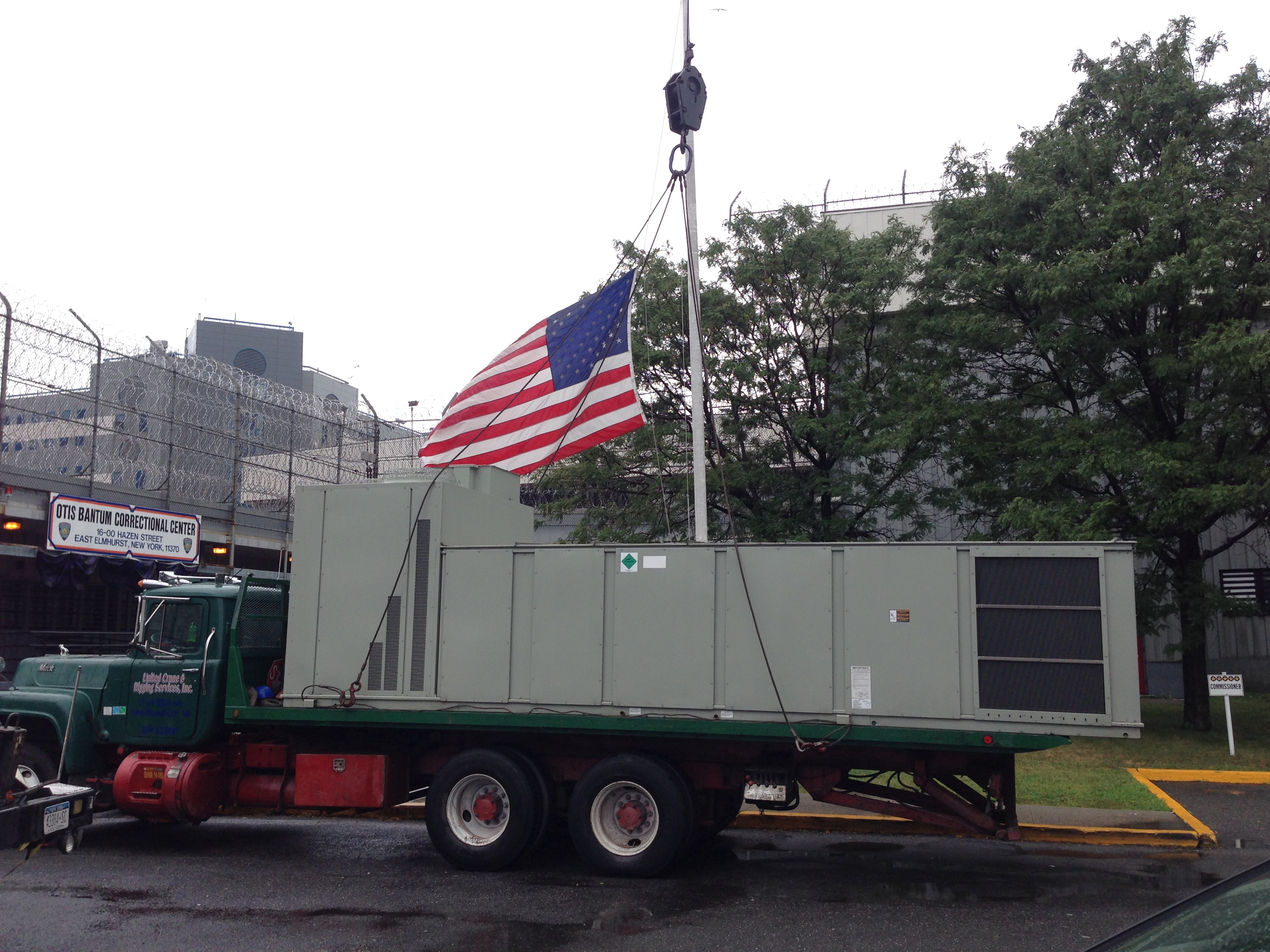 Transporting AC Unit