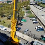 Crane at Chiller Project