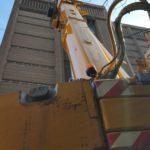 Crane Boom Up Close