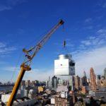 Blue Sky and Crane