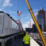Crane LIfting in Place