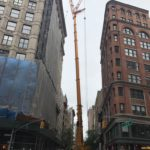 Tall tower Crane