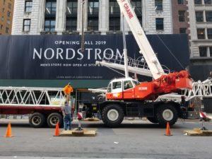 Crane in the City