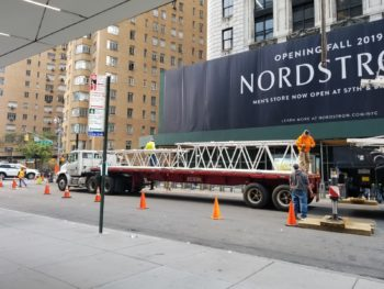 Crane Boom NYC