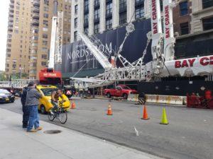Crane in Street